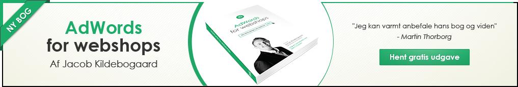 Læs om min nye AdWords bog