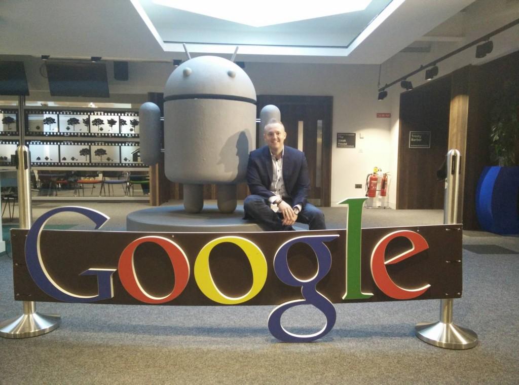 Google Dublin besøg